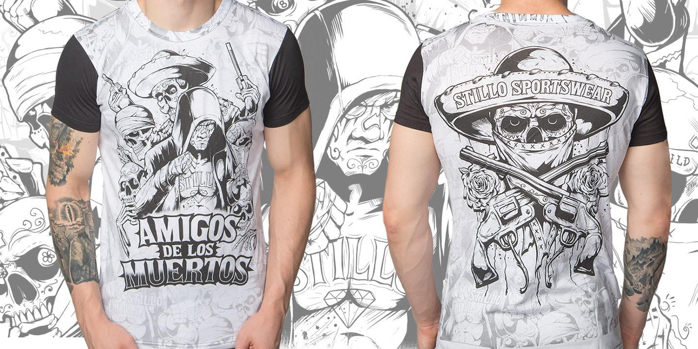 T-Shirt «Amigos de los Muertos»