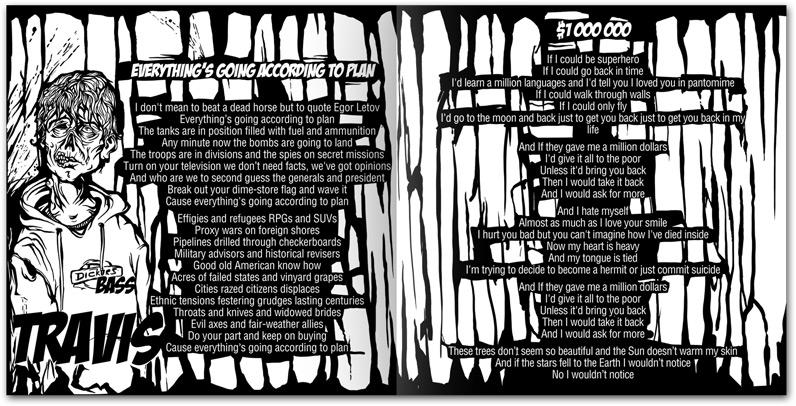 5. Travis — the bassist of Aybat Hallar and lyrics of two songs