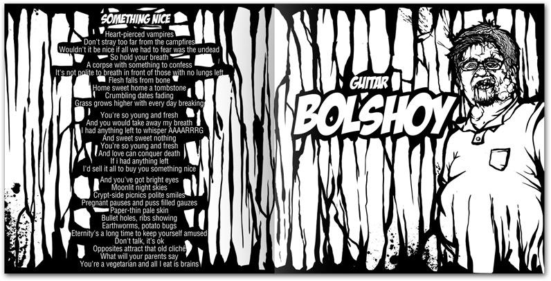 "Bolshoy, the guitarist of Aybat Hallar and lyrics of the album's title track ""Something Nice"""