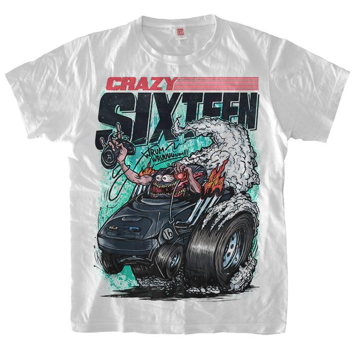 Crazy Sixteen Sega T-Shirt