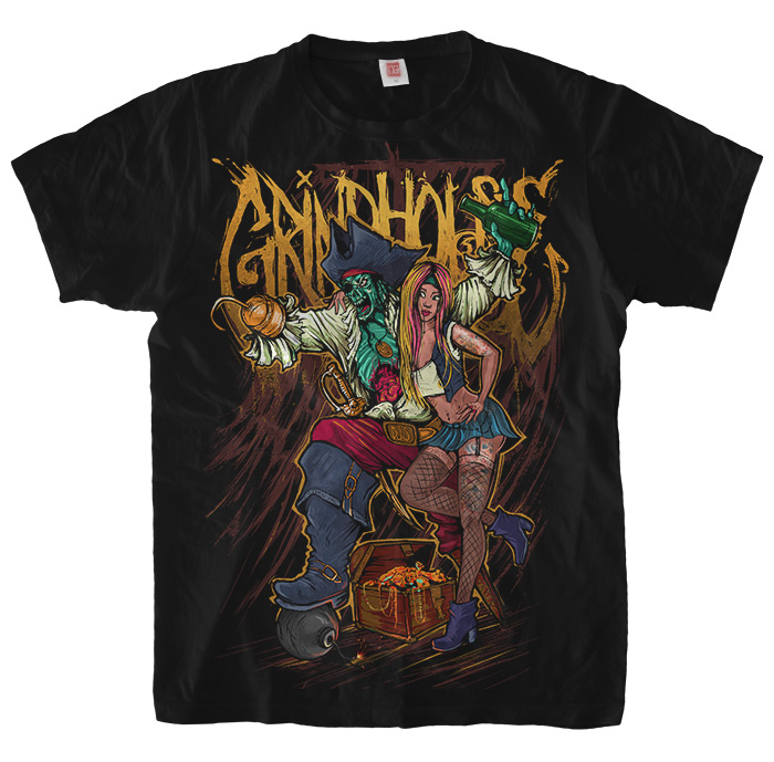 Grindhouse Pirate and Slut T-Shirt