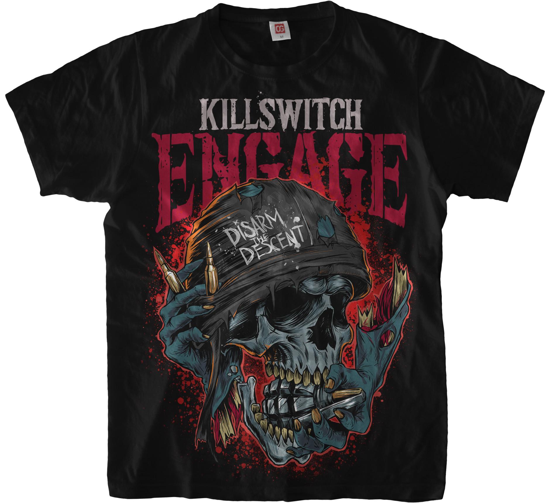 «Disarm the Descent» T-Shirt for Killswitch Engage