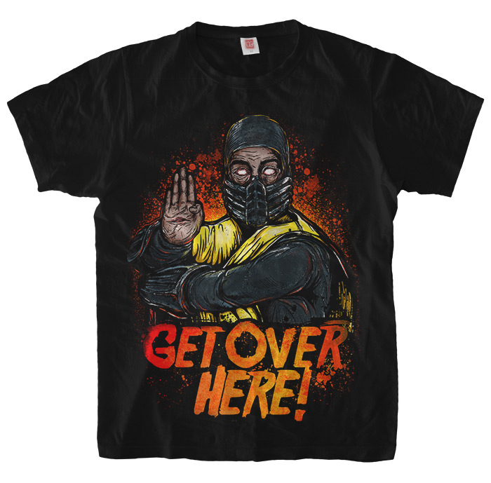 "Scorpion ""Get Over Here"" T-Shirt"