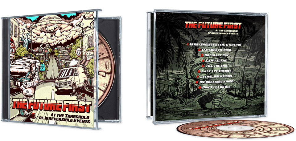 CD's front and back covers
