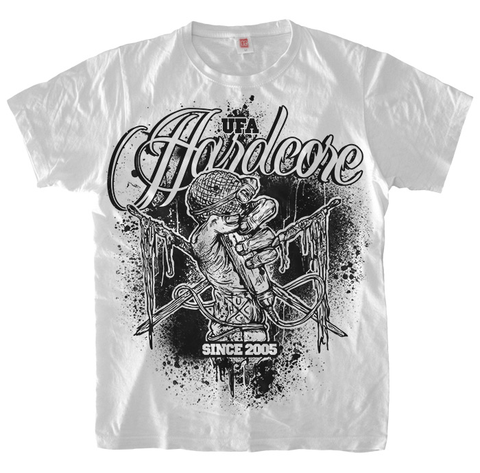 Ufa Hardcore City 7 years T-Shirt