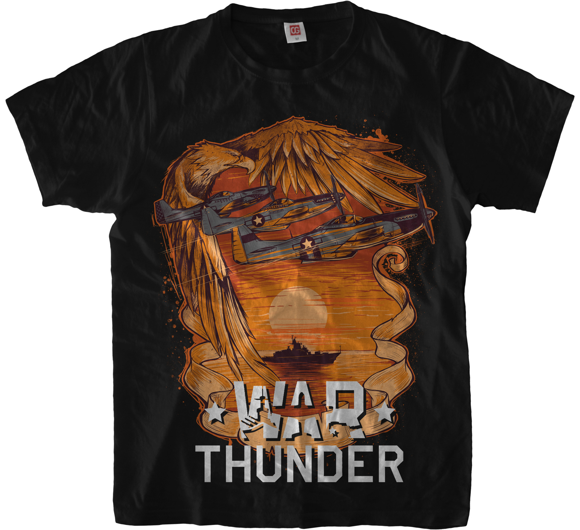 «War Thunder: USA» T-Shirt for Gaijin Entertainment