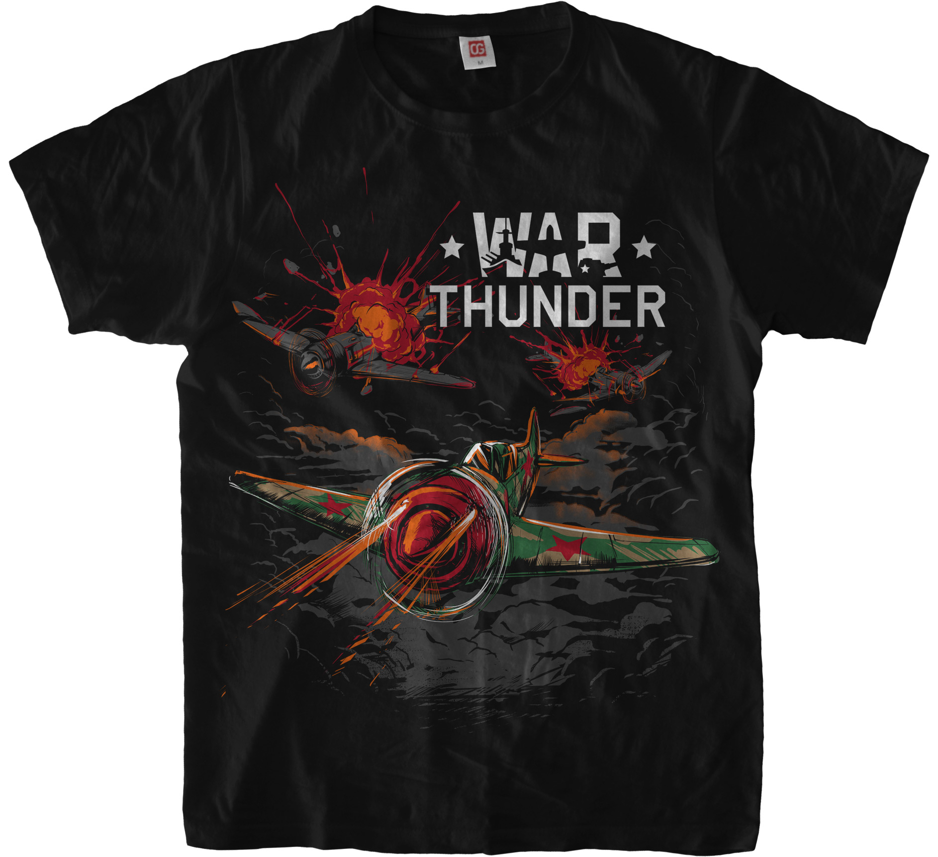 «War Thunder: USSR» T-Shirt for Gaijin Entertainment